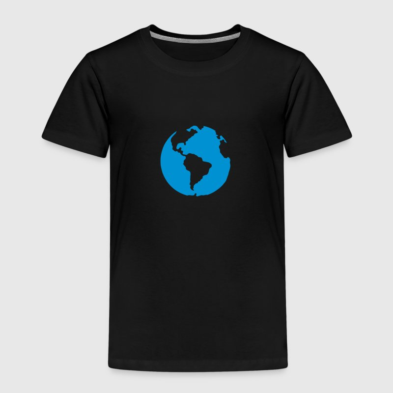 Planet earth blue icon 2805 - Kids' Premium T-Shirt