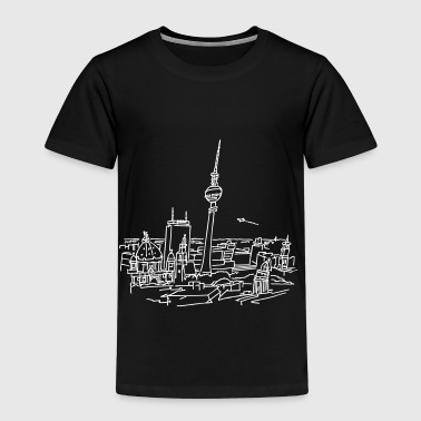 Panorama of Berlin - Kids' Premium T-Shirt