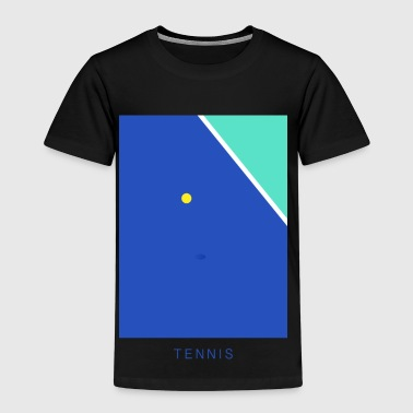 Tennis Art - Kinder Premium T-Shirt