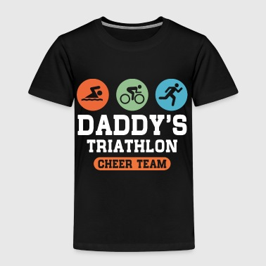 Triathlon Daddy Cheer Team - Kids' Premium T-Shirt