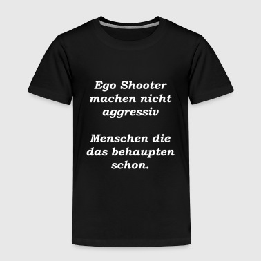Gaming shirt for Lan parties. Gift idea, shooter - Kids' Premium T-Shirt