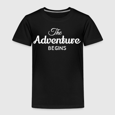 the adventure begins - Kids' Premium T-Shirt