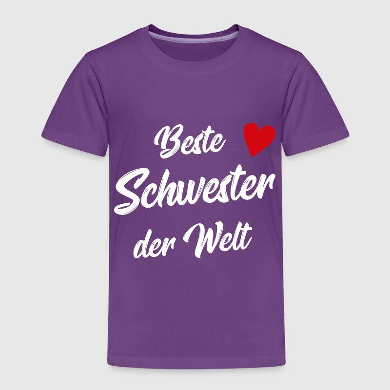 Schwester Geschenk Beste Schwester von Lilettu | Spreadshirt