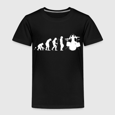 Schlagzeuger Evolution Schlagzeug Evolution Fun Shirt - Kinder Premium T-Shirt