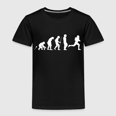 American Footbal Evolution witziges Fun Shirt - Kinder Premium T-Shirt
