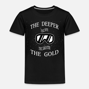 Diving Mask Diving Mask Diver Scuba Diving - Kids' Premium T-Shirt