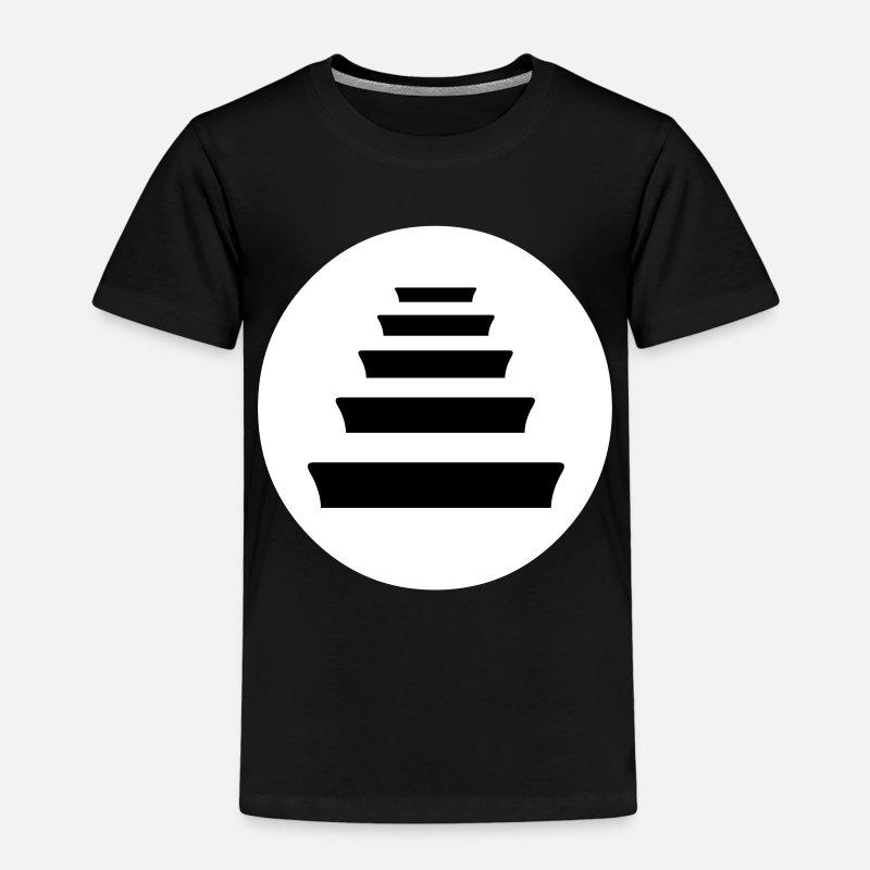 Rapero Camisetas - Quinto Escalon Hip Hop - Camiseta premium niño negro fcbe5161ca7