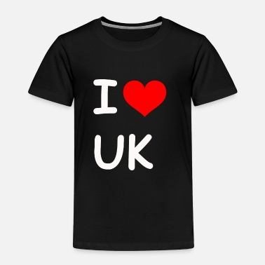 I love UK UK - Kids' Premium T-Shirt