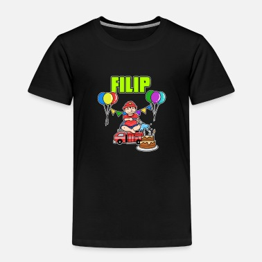 Filip Firefighters Filip Gift - Kids' Premium T-Shirt
