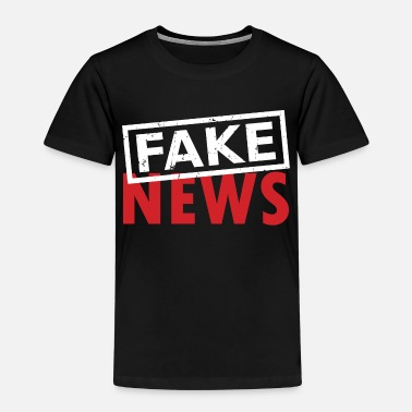 Fake Fake News Junk Media - Kinderen premium T-shirt