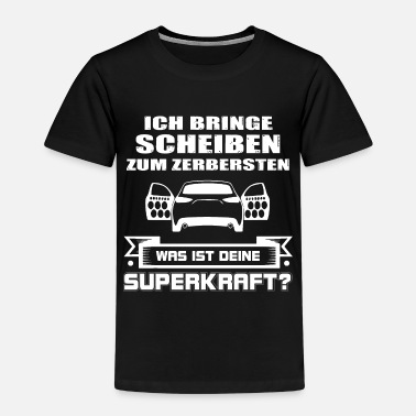 Hifi Car Hifi - Super Power-bas, Hifi-shirt bas-lover - Kinderen premium T-shirt