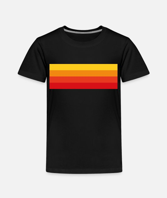 Sunset T-shirts - Sunset - Kinderen premium T-shirt zwart