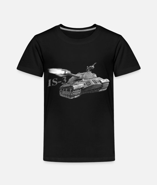 Tanks T-Shirts - IS-3 - Kids' Premium T-Shirt black