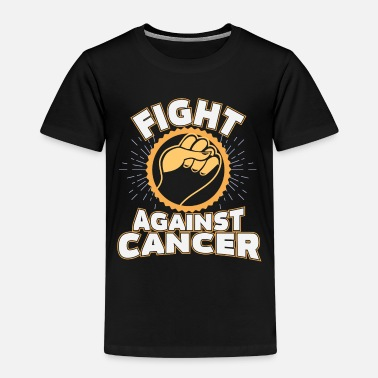 Childhood Cancer Childhood Child Survives Supporting Gold - Kids' Premium T-Shirt