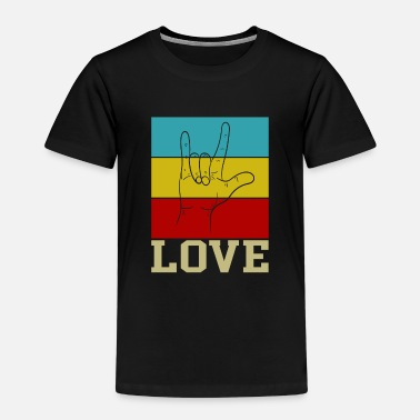 Hippie Love hippie movement - Kids' Premium T-Shirt