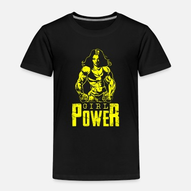 Woman Power Girl power woman power woman - Kids' Premium T-Shirt