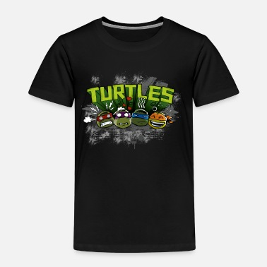 Schildkröten Teenage Premium Longsleeve 'TURTLES' - Kinder Premium T-Shirt