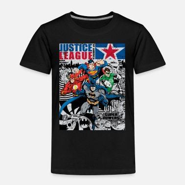 Comic Justice League Comic Cover - Kinder Premium T-Shirt