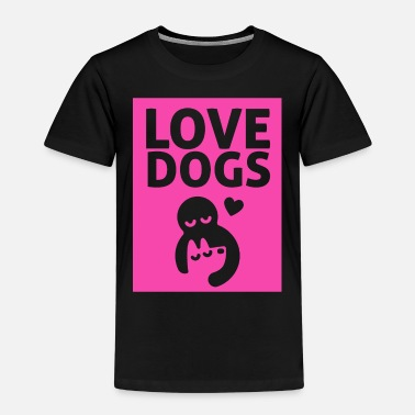 LOVE DOGS - Kids' Premium T-Shirt