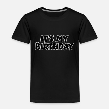 50. It's my Birthday Geburtstag Design Outline - Kinder Premium T-Shirt