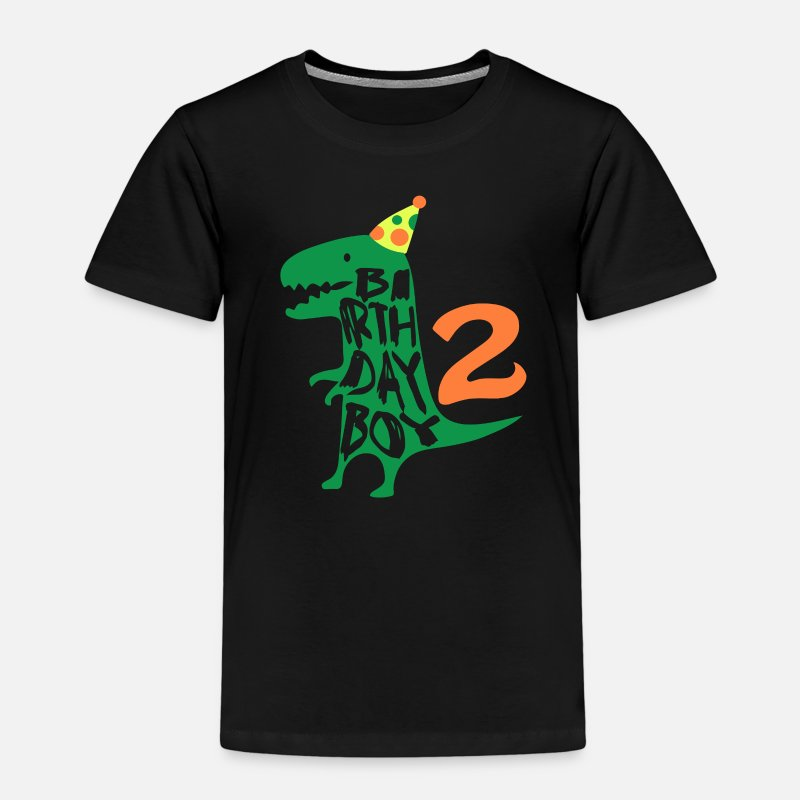 Birthday Boy 2 Years Old Kids Premium T Shirt