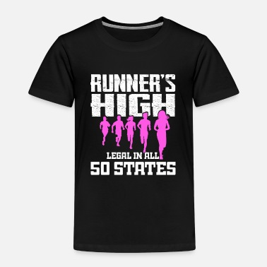 Nyc Runner's High Legal in All 50 States - Women - Kids' Premium T-Shirt