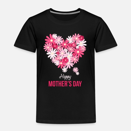 Mother's Day T-Shirts - Cute mother's day gift - mother's day - Kids' Premium T-Shirt black
