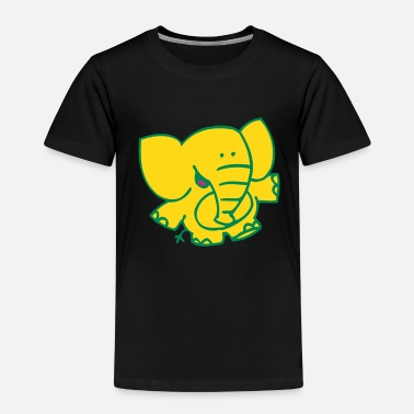 Little Elephant by Cheerful Madness!! - Kids' Premium T-Shirt