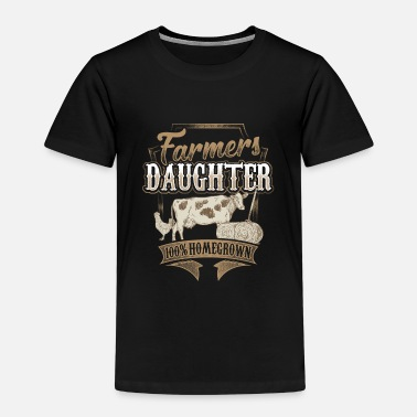 Daughter Daughter farmer farmer's wife farmer gift - Kids' Premium T-Shirt