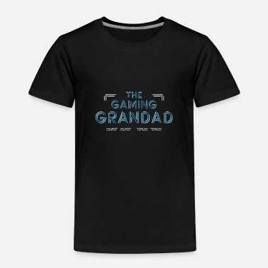 Gamer Grandad Funny futuristic gift gamer grandfather - Kids' Premium T-Shirt