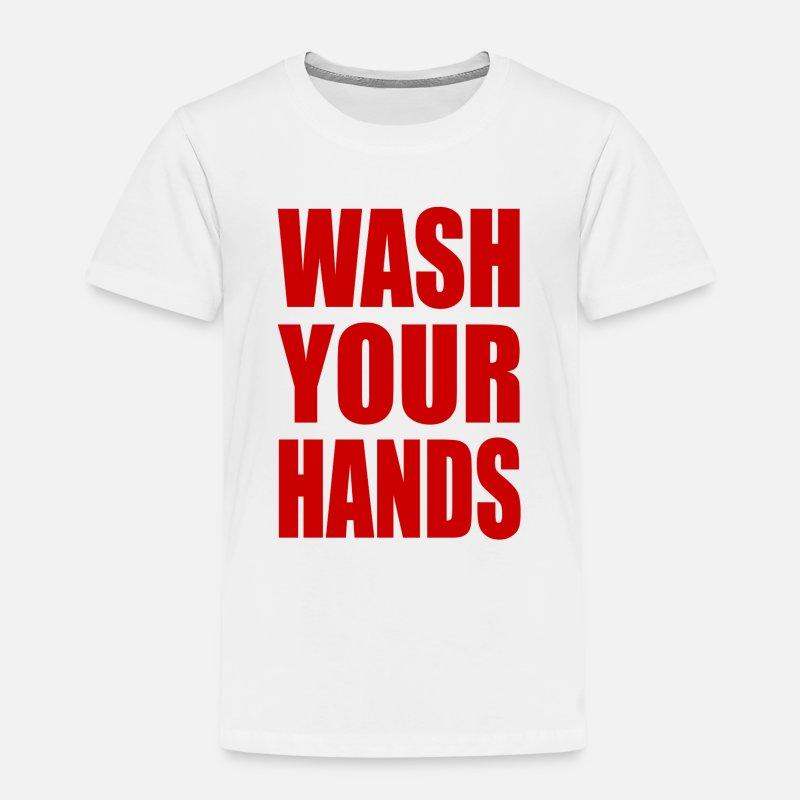 Vasket du hendene Vasket du hendene Premium T skjorte barn