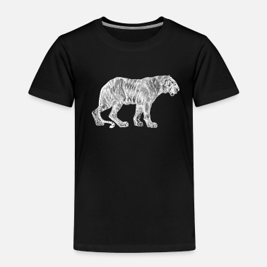 White Tiger Safari Africa - Kids' Premium T-Shirt