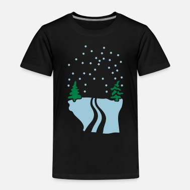 Snow Snow - Premium T-shirt barn