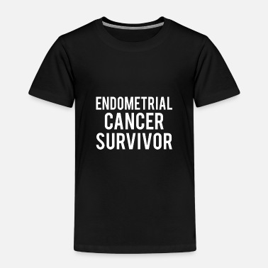 Endometrial Cancer Survivor Endometrial Cancer: Endometrial Cancer Survivor - Kids' Premium T-Shirt