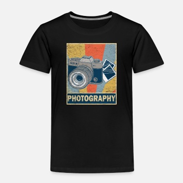 Retro vintage photography - Kids' Premium T-Shirt