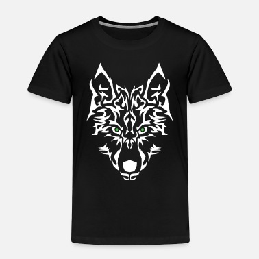 Personalise Wolf Power. Easy to personalise. - Kids' Premium T-Shirt