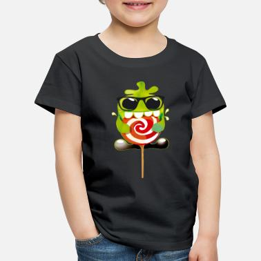 Collection For Kids Lolling monster - Lasten premium t-paita