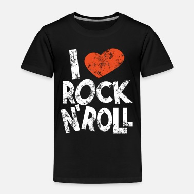 Love I love rock and roll - Kids' Premium T-Shirt