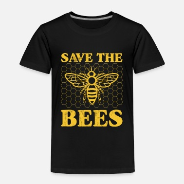 Save The Bees Bee Hive Save The Bumble Bees Awareness Support - Kids' Premium T-Shirt