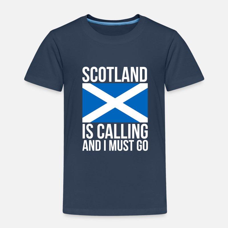 40963f5e3 Funny Scottish Tshirt Scotland Is Calling And I Kids Premium T