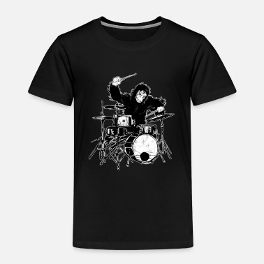 Concertgoers Going Ape On Drums Novelty 2001 Space Odyssey - Kids' Premium T-Shirt