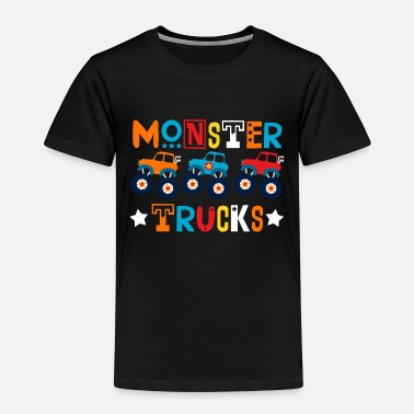 Monster Monster Trucks für Kinder - Kinder Premium T-Shirt