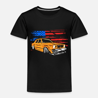 Drive Go By Car USA Car Driving Car Flag Flag - Kids' Premium T-Shirt