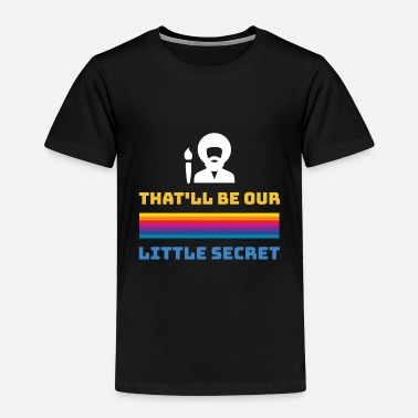 Ross Bob Ross little secret - Kids' Premium T-Shirt