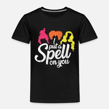 Witchcraft Halloween spell wizard witches witchcraft gift - Kids' Premium T-Shirt