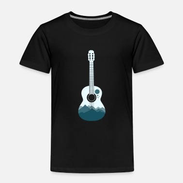 Kids &amp Guitar art christmas gift kids idea - Kids' Premium T-Shirt