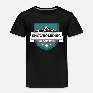 Sportlegende Snowboarden Sportlegende Snow Ride - Kinder Premium T-Shirt