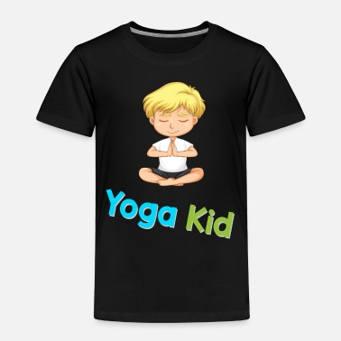 Yoga Yoga boy kid - Kids' Premium T-Shirt