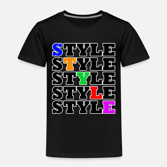 Right T-Shirts - Style - Street Style - Kids' Premium T-Shirt black