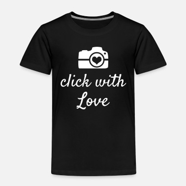 Press With Love Photographer Photographer Gift Idea - Kids' Premium T-Shirt